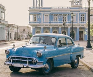aesthetic, beautiful, and blue car image