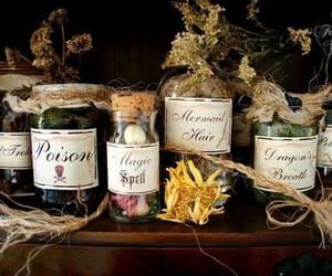 poison, potion, and magic image