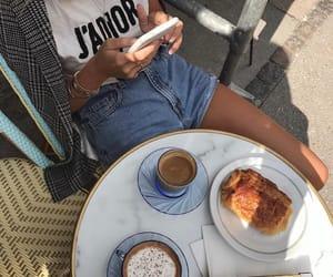 cafe, fika, and girl image