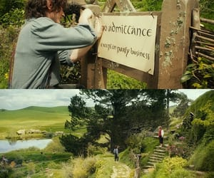 jrr tolkien, LOTR, and nature image