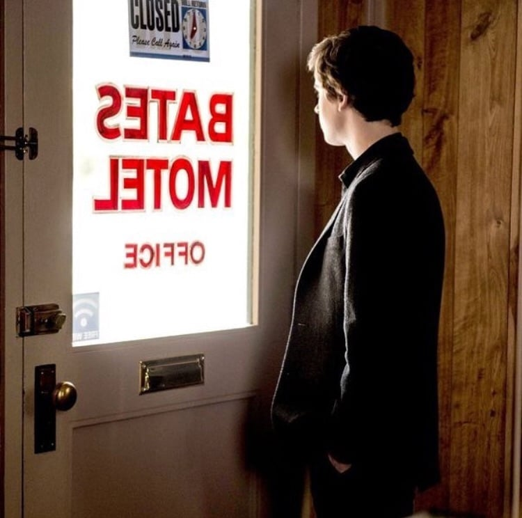 norman bates, series, and tv image