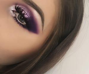 beauty, eyeshadow, and glitter image