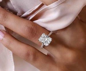 diamond, wedding, and engagement image