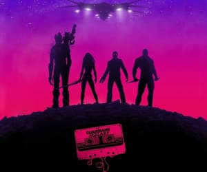 Marvel, guardians of the galaxy, and wallpaper image