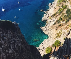 capri, ocean view, and ocean image