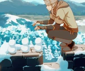 anime, gif, and akagami no shirayukihime image