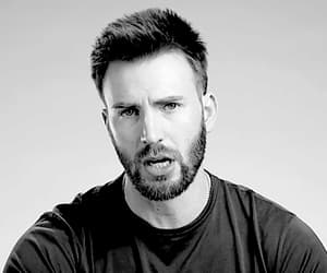 actor, chris evans, and gif image