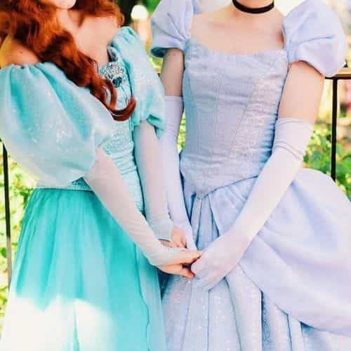 ariel, cinderella, and disney image