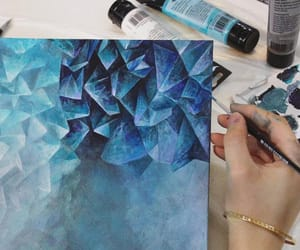 amazing, crystal, and paint image