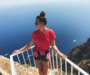 capri, fashion, and Sunny image