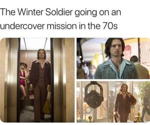 actor, awesome, and bucky image
