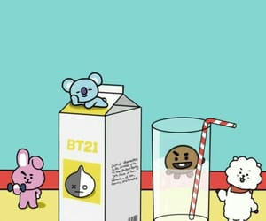 bt21, bts, and wallpaper image
