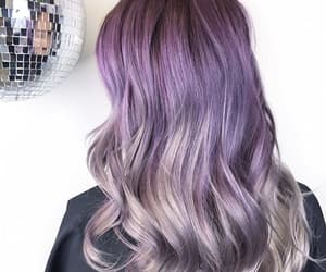 colorful, unicorn, and hair image