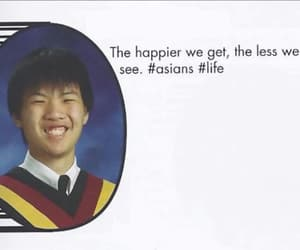 asian, smile, and eyes image