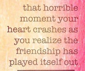 broken, friendship, and heartbroken image