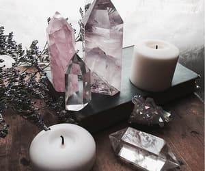 crystal, stone, and witch image