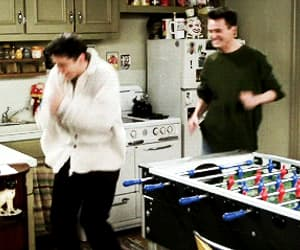 chandler bing, friendship, and gif image