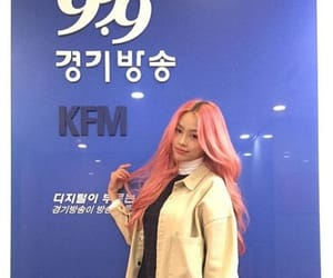 kpop, pink lady, and 미소 image
