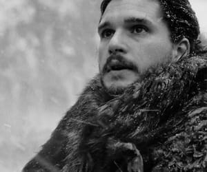 game of thrones, kit harington, and lord snow image