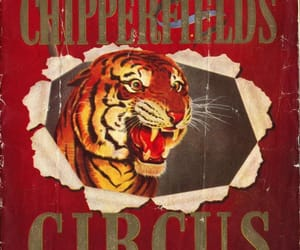 circus, cover art, and vintage image