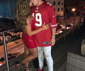 jake paul, couple, and erika costell image