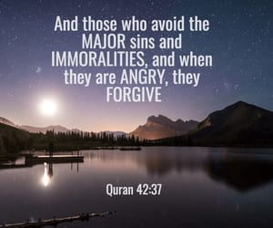 allah, sins, and quranquote image