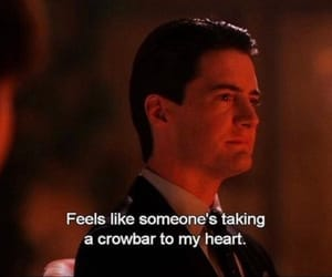 Twin Peaks, dale cooper, and agent cooper image