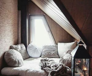 home, pillow, and bed image
