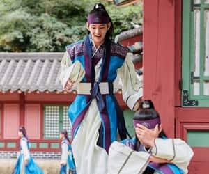 hwarang, v, and taehyung image