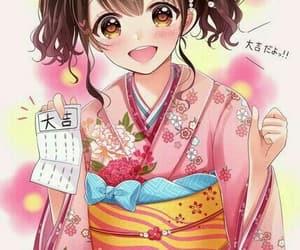 anime girl, fa art, and kawaii girl image