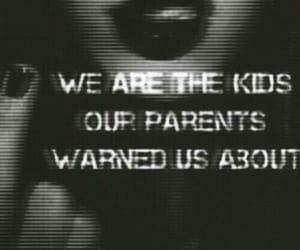 black, grunge, and kids image