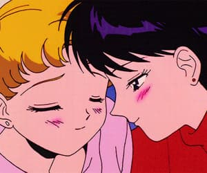 animated, gif, and sailor moon image