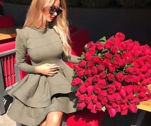 dress, valentines, and fashion image