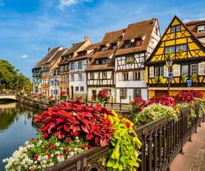 france, alsace, and colmar image