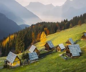 cottage, landscape photography, and wanderlust image