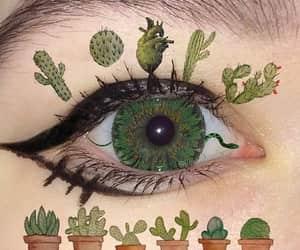 green, alternative, and closeup image