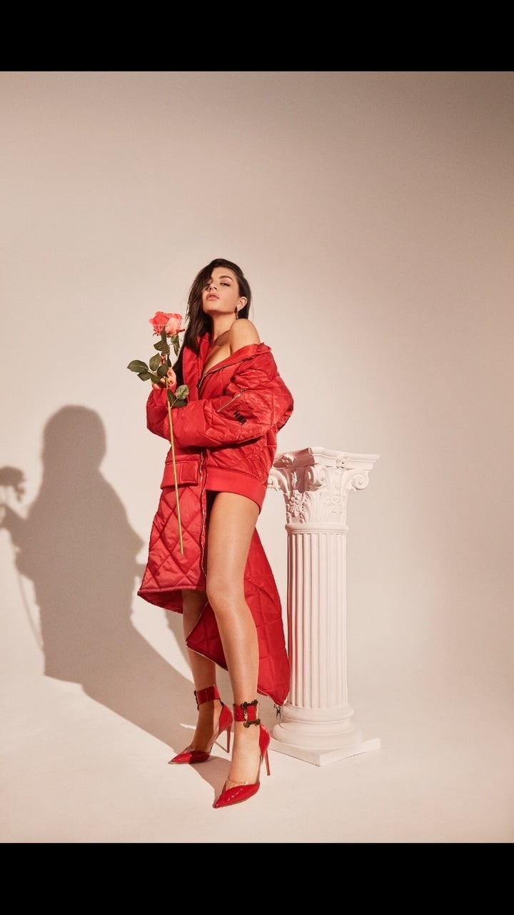 Charli Xcx On Number 1 Angel Photoshoot On We Heart It