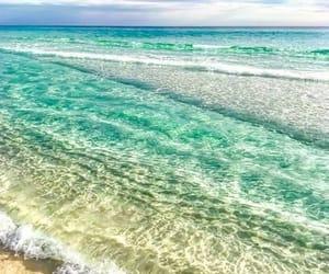 beach, florida, and ocean image