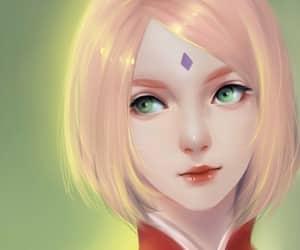 sakura haruno, naruto, and sakura image