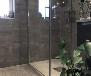 bathroom, grey, and gris image