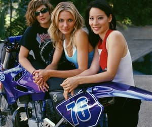 cameron diaz, charlie's angels, and drew barrymore image