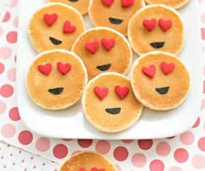 breakfast, hearts, and cute image