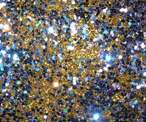 blue, colorful, and glitter image