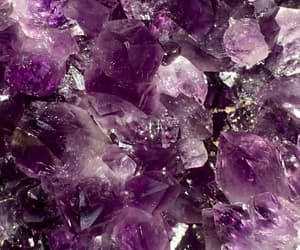 wallpaper, crystal, and purple image