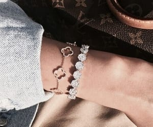 bracelet, style, and whithefuture image