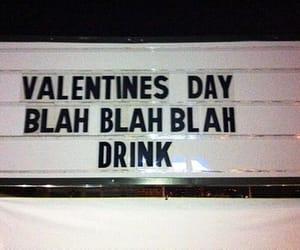 drink, valentines day, and valentine image