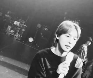black & white, kim jinwoo, and jinwoo image
