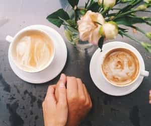coffee, couple, and love image