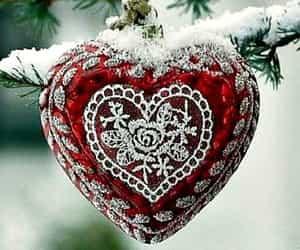 snow, winter, and lové image