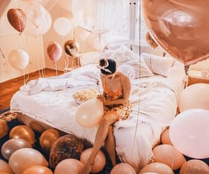 balloons, style, and birthday image